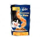 Felix 85 гр./Феликс консервы в фольге для кошек курица морковь желе