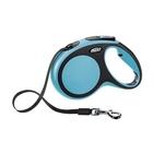 Flexi Comfort/Поводок-рулетка  (до 25 кг) 5 м  синяя ремень