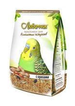 Любимчик 500 гр./Корм для волнистых попугаев с орехами