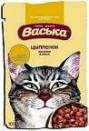 Васька 100 гр./Консервы  Для котят кусочки в желе