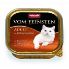 Animonda  Vom Feinsten Adult 100 гр./Анимонда консервы для кошек с куриной печенью