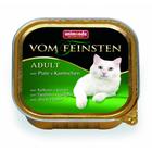 Animonda  Vom Feinsten Adult 100 гр./Анимонда консервы для кошек с  индейкой и кроликом