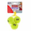 """Kong/Игрушка для собак Air """"Теннисный мяч"""" маленький (в упаковке 3 шт)"""
