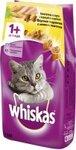 Whiskas 1,9 кг./Вискас сухой корм для кошек Вкусные подушечки с паштетом Аппетитное ассорти с курицей, уткой и индейкой