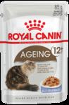 Royal Canin Ageing +12  85 гр./Роял канин консервы в фольге для кошек старше 12 лет в желе