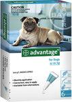 Advantage/Адвантейдж капли для собак от блох более 25кг 1пипетка(уп.4шт)