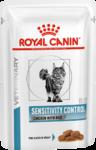 Royal Canin Sensitivity Control 100 гр./Роял канин консервы Диета для кошек при пищевой аллергии/ непереносимости