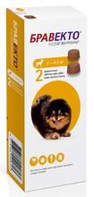 БравектоЖевательные таблетки для собак  2 таб./ 2-4,5кг 112,5мг