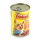 Friskies//Фрискис консервы для кошек с курицей,почками и овощами 400 г