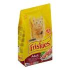 Friskies Adult 10 кг./Фрискис сухой корм для взрослых кошек с мясом, курицей и овощами 10 кг