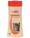 Доктор ЗОО 250 мл./Шампунь антипаразитарный  для котят