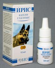 Ирис//капли глазные для собак и кошек 10 мл