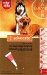 Advocate//капли для собак от 10 до 25 кг от блох и клещей 3*2,5 мл