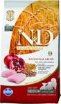 Farmina N&D Low Grain Chicken & Pomegranate Puppy 12 кг./Фармина Полнорационный корм для щенков беременных и кормящих собак.Спельта, овес, курица, гранат