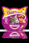 Whiskas Duo Treats 40 гр./Вискас лакомство для кошек с курицей и сыром