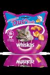 Whiskas Duo Treats 40 гр./Вискас лакомство для кошек с лососем и сыром