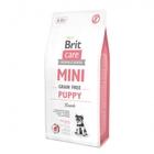 Brit  Care Mini Grain Free Puppy 2 кг./Брит Каре Сухой беззерновой гипоаллергенный корм для щенков миниатюрных пород (от 2 недель до 10 месяцев) и кормящих сук