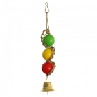 Triol/Игрушка  для птиц  Шарики с колокольчиком 083КХ
