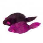 TRIOL /Игрушка для кошек Мышь цветная 70-75мм уп.24шт/M003C