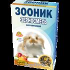 """Зооник 400 гр./Зерносмесь для кроликов  """"С фруктами и овощами"""" Стандарт"""