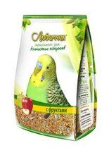 Любимчик 500 гр./Корм для волнистых попугаев с фруктами