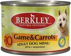 Berkley 200 гр./Беркли консервы  для собак дичь с олениной и коричневым рисом