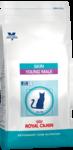 Royal Canin Skin Young Male 400 гр./Роял канин Корм для кастрированных котов до 7 лет с повышенной чувствительностью кожи
