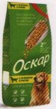 Оскар 2 кг./Сухой корм для взрослых собак с ягненком с рисом