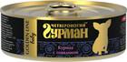 Четвероногий Гурман GOLDEN LINE 100 гр./Консервы для щенков Курица с говядиной в желе