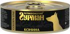 Четвероногий Гурман GOLDEN LINE 100 гр./Консервы для собак Конина в желе
