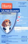 Hartz UltraGuard Reflecting Flea & Tick Collar H02898//Хартс ошейник от блох и клещей на 5 месяцев для собак и щенков светоотражающий белый 50 см