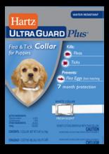 Hartz UltraGuard Plus Flea & Tick Collar Н96341//Хартс ошейник от блох, блошиных яиц и клещей на 7 месяцев для щенков 38 см