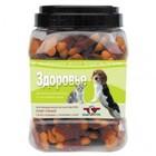 Green Qzin 750 гр./Грин Кьюзин  Лакомство для собак Здоровье галеты с телятиной и уткой