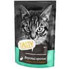 TASTY 85 гр./Консервы для кошек с кроликом в желе пауч