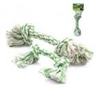 Triol/Игрушка  для собак веревка с ментолом, 2 узла, 150мм DT-26