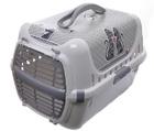 Moderna Cats in Love переноска 49x32x30h см с пластиковой дверцей, серая (28002)