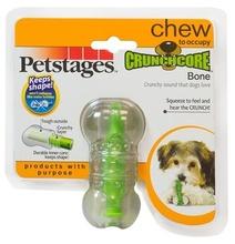 """Petstages игрушка для собак """"Хрустящая косточка"""" резиновая 12 см средняя (31002)"""