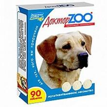 Доктор ЗОО//витамины для собак здоровый иммунитет 90 таб.