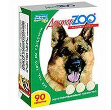 Доктор ЗОО//витамины для собак здоровье и сила 90 таб.