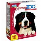 Доктор ЗОО//витамины для собак здоровье кожи и шерсти 90 таб.