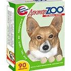 Доктор ЗОО//витамины для собак со вкусом печени 90 таб.