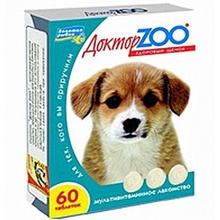 Доктор ЗОО//витамины для щенков 90 таб.