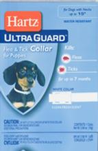 Hartz UltraGuard Flea & Tick Collar Н80478//Хартс ошейник от блох и клещей на 7 месяцев для щенков 38 см