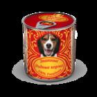 Родные Корма Знатные 340 гр./Консервы для собак с говядиной