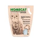 HOMECAT 3,8 л./Хоум Кэт наполнитель силикагелевый без запаха