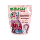 HOMECAT 3,8 л./Хоум Кэт наполнитель силикагелевый с ароматом розы