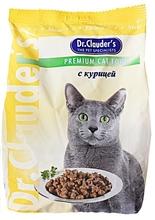 Dr. Clauder//сухой корм для кошек с курицей 400 г