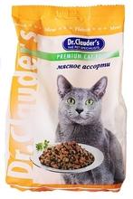 Dr. Clauder//сухой корм для кошек-Мясное ассорти 400 г