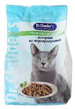 Dr. Clauder//сухой корм для кошек-Ассорти из морепродуктов 400 г