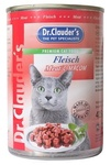 Dr.Clauder`s 415 гр./Доктор Клаудер консервы для кошек с говядиной